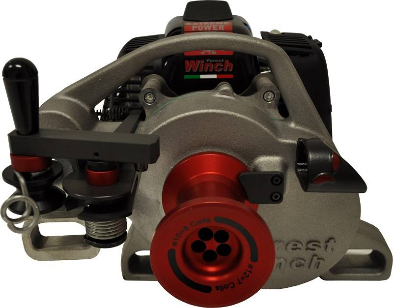 Verricello Forestale Forestwinch Vf 105 Red Iron