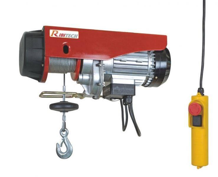 Prodotto paranco elettrico ribitech pe c kg kg con
