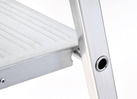 Prodotto scala casalinga in alluminio modello scalamìa al144 4