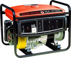 Gruppo elettrogeno GE 6700 red star - motore mosa benzina rs360 - 12 CV - 5,5 KW a 220 volt
