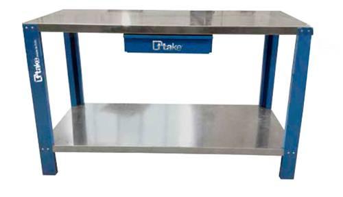 Prodotto banco da lavoro compact 1 9 metri con 2 cassetti ghe