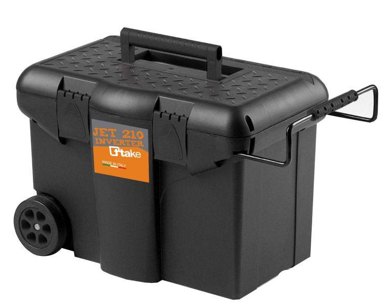 Saldatrice ad inverter JET 210 C con accessori e trolley - Immagine 3