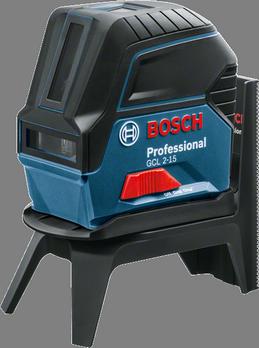 Livella laser a linee e punti GCL 2-15 con treppiede BT 150