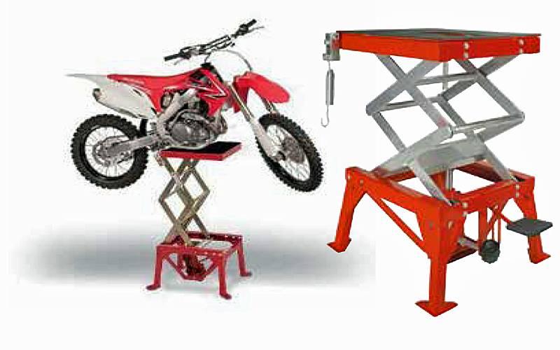 prodotto sollevatore idraulico a pedale per scooter e moto da cross ghe ba gas ferramenta online. Black Bedroom Furniture Sets. Home Design Ideas